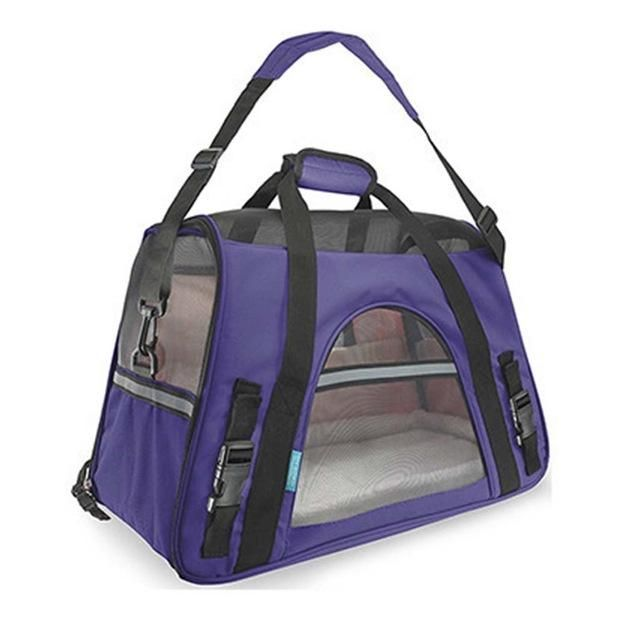 bacdea0a4d Oxford Breathable Bag for Cats Pet Carrier Dog Designer Carrier Bags for  Puppy Medium Transport Carriers