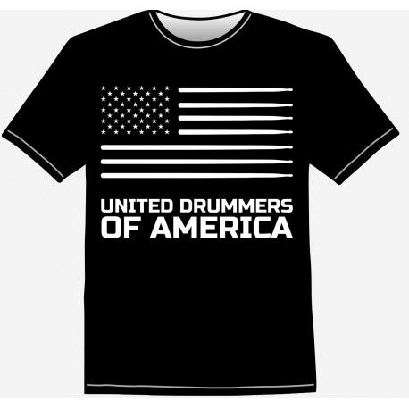 Drummer t-shirt - perfect gift for drummers