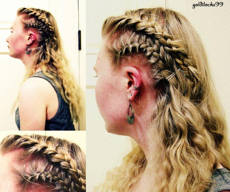 viking hair style on Pinterest | Lagertha, Lagertha Hair and ...