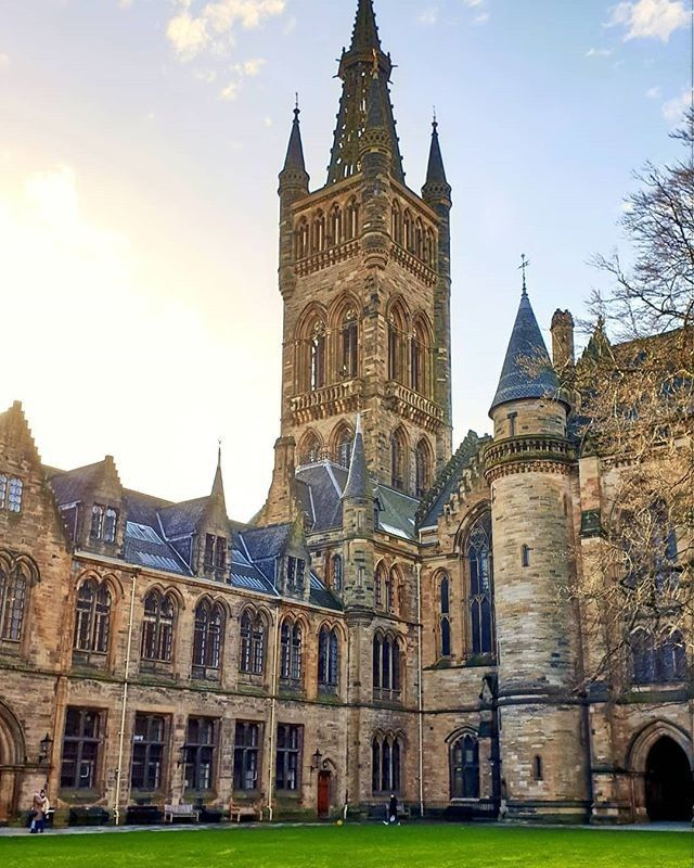 Visitscotland On Instagram The University Of Glasgow Or Real Life Hogwarts Brilliant Shot By Irwinpehar Glasgow University London University Glasgow