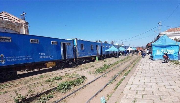 Llegó el Tren del Estado en tu Barrio: Brindará asistencia médica y ciudadana dos semanas en la estación. #Tren #EstadoEnTuBarrio #Salta…