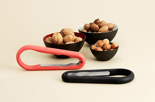 Japanese product design: A sleek take on a classic, this nutcracker not only does its job, but is easy to use and tucks neatly into the kitchen drawer.