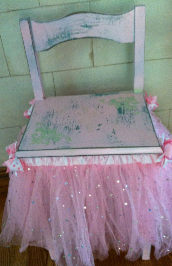 Girl's Princess Chair Photography Prop Pink Hand by Vignettes11, $60.00