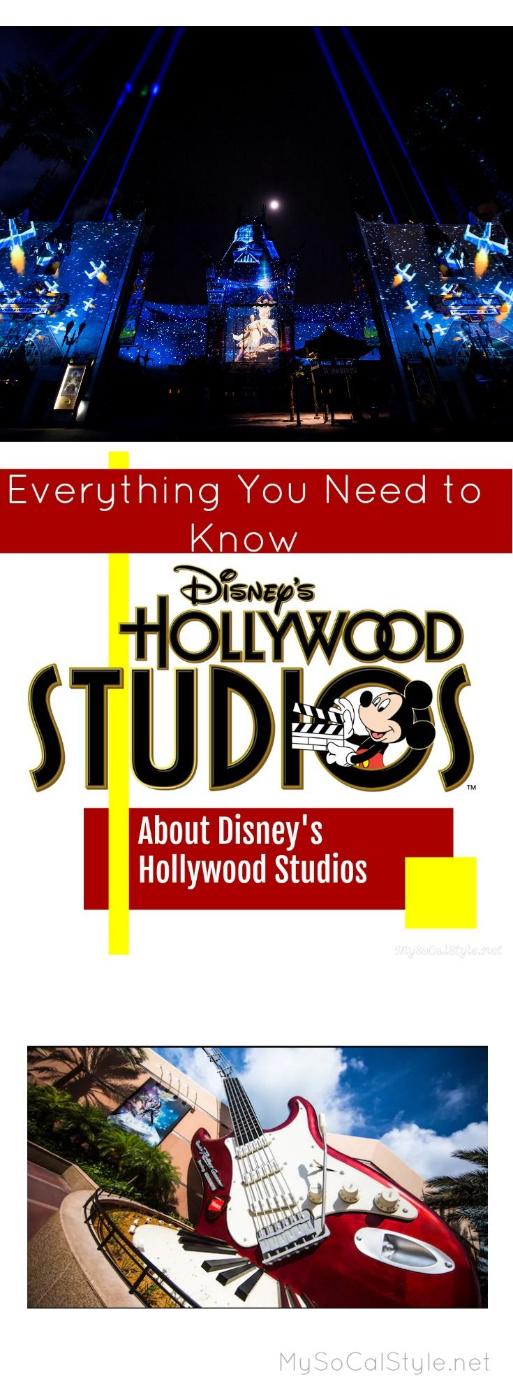 Curious about Disney's Hollywood Studios? Here's everything you need to know! #Disney #Hollywood