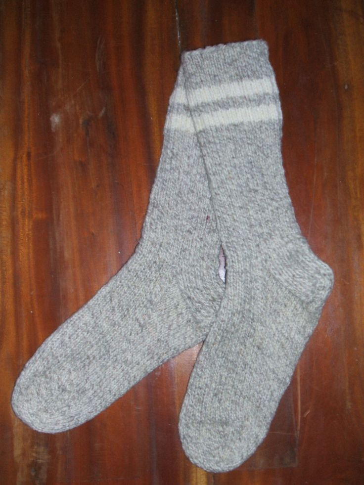 Knit Adult Thick Warm Wool Boot Socks by soxylady on Etsy