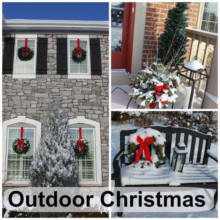 Handmade Outdoor Christmas Decorations. Wonderful outdoor Christmas decorations  during the day 396 best outdoors images on Pinterest gift