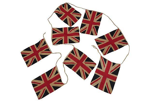 One Kings Lane - Coronation Union Jack Bunting
