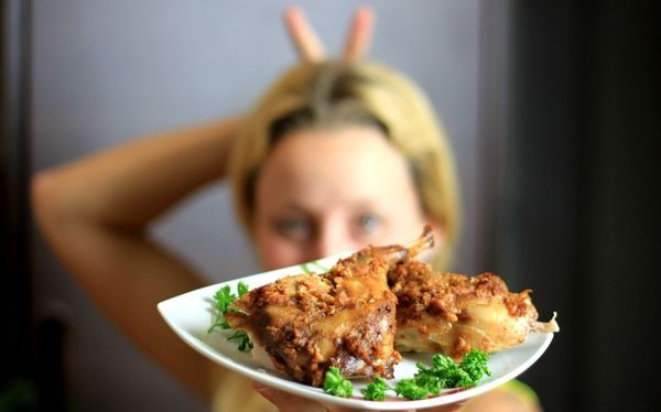 Zdravě pečený králík v marinádě a zeleninou | Pro ŽENY a HUBNUTÍ | od fitness Danči | Česko