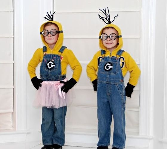 DIY despicable me minion ideas cute kids halloween ideas