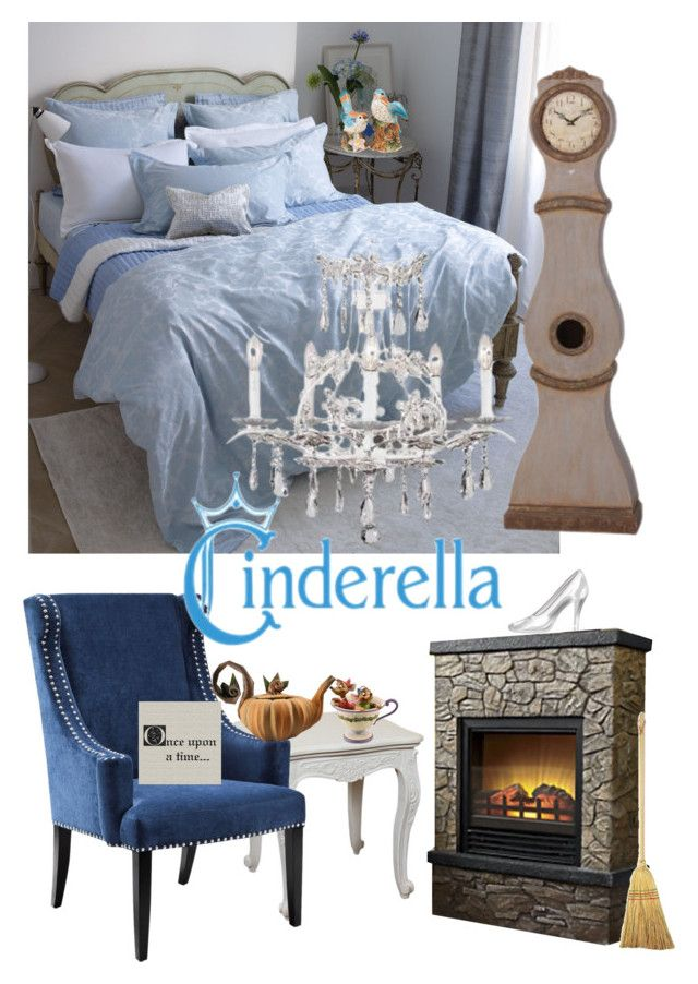 Once Upon A Time Home Decor Part - 47: Disneyhome- Cinderella Inspired Bedroom By Bijouxetsoirees On Polyvore  Featuring Interior, Interiors, Interior Design