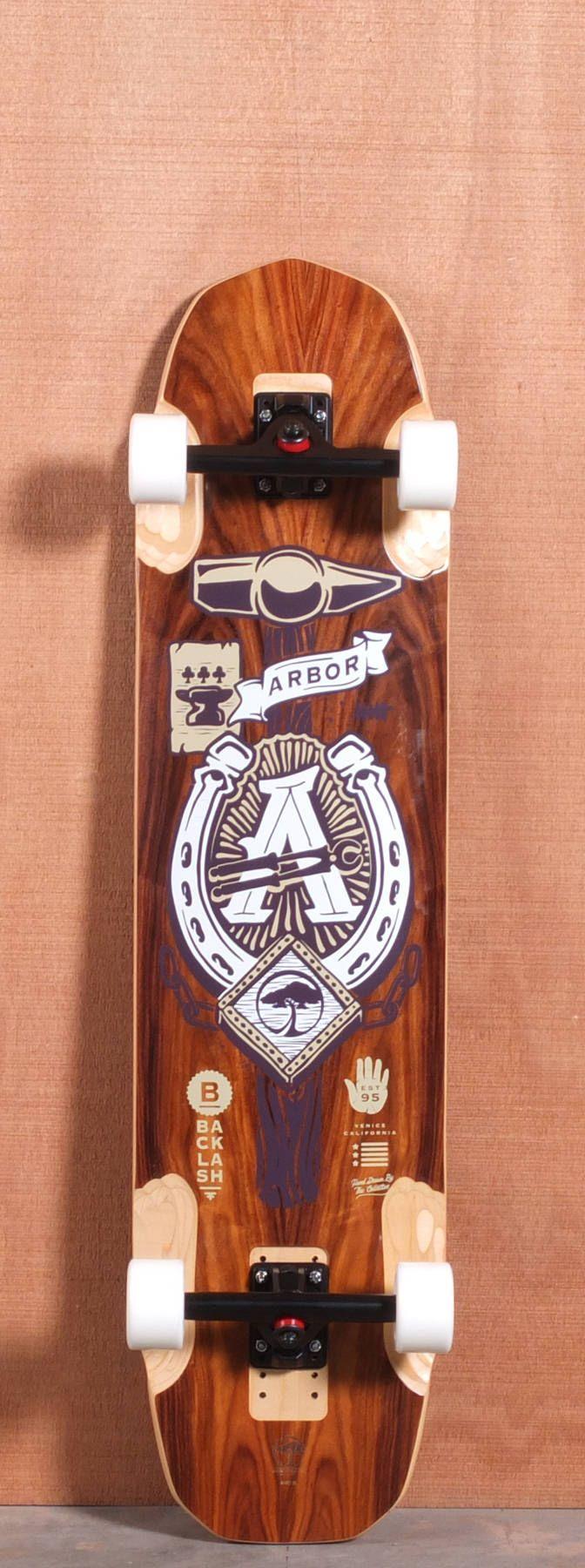 "Arbor 40.5"" Backlash Longboard Complete"