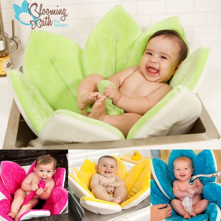 Blooming Bath Baby Bath Is The Cute And Practical Way To