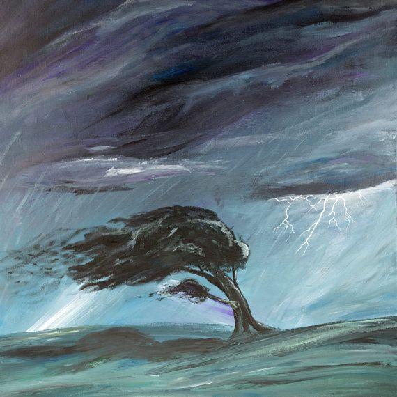 O vento anuncia-se pelo ruído ...