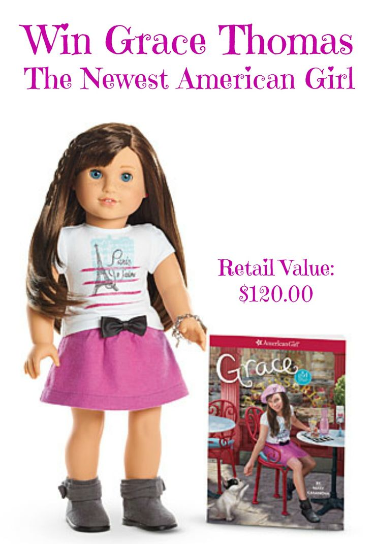 Win Grace Thomas, The Newest American Girl {Giveaway} -