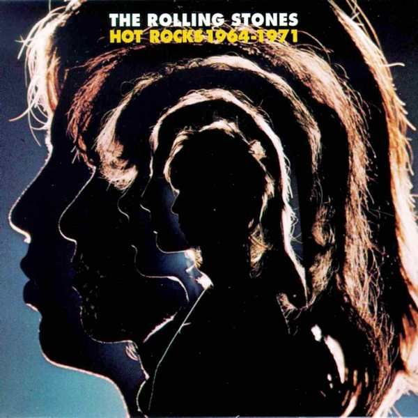The Rolling Stones - Hot Rocks 1964-1971 (2013, Clear ...  |Rolling Stones Hot Rocks Album Cover