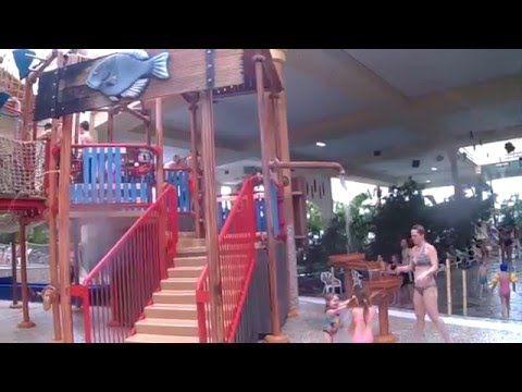 Wasserspielplatz - Aqua Mundo - Centerparcs Park Hochsauerland - YouTube
