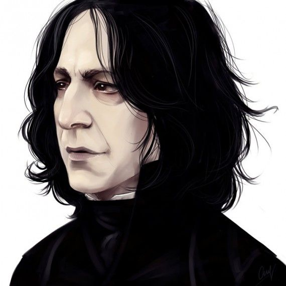 Harry Potter : les plus beaux fan arts du Professeur Rogue - LiaBatman