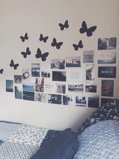 Las 25 mejores ideas sobre habitaciones tumblr en - Ideas para decorar paredes de dormitorios ...
