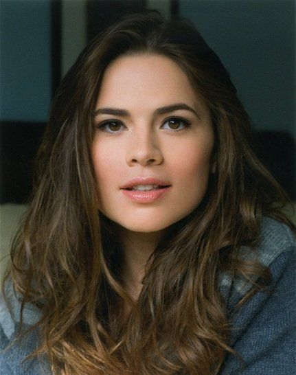 Hayley Atwell--She was very good in Captain America. very pretty