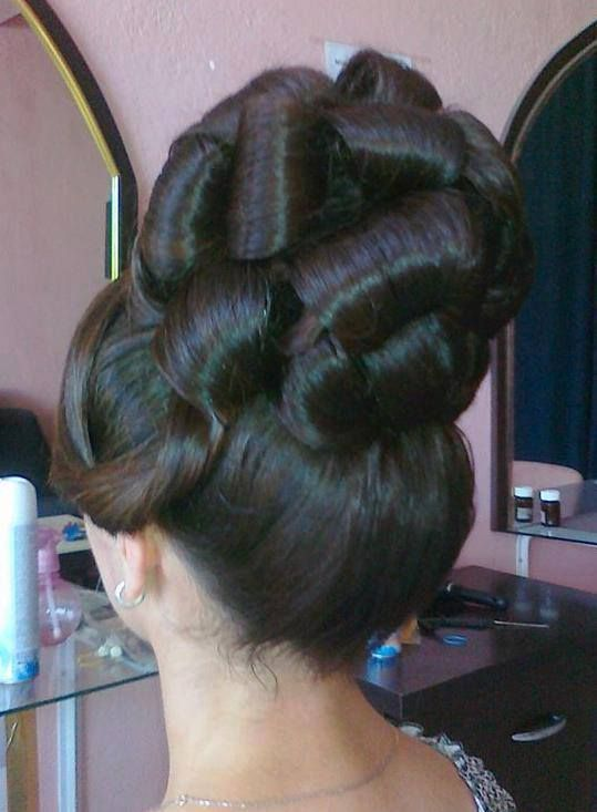 25 Best Ideas About Big Updo On Pinterest Wedding Updo
