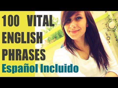 100 Frases en Inglés Para Principiantes - Inglés Básico para Hispanohablantes - Inglés Fácil - YouTube