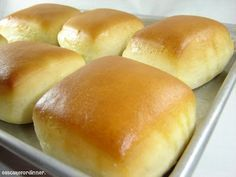 """Texas Roadhouse Rolls - Copycat Recipe - Tested @ 5.0 Stars Gourmetmama's Kitchen (This is by far one of the best dinner rolls equal to restaurant-quality. For truly Big Rolls, you will need to roll out dough to a rectangle shape, fold over, press down slightly and cut into squares. Don't rush the """"rising"""" process. Let it double in size, even after cutting. I love how these take only 16-17 minutes to bake 'for the big rolls'!)"""