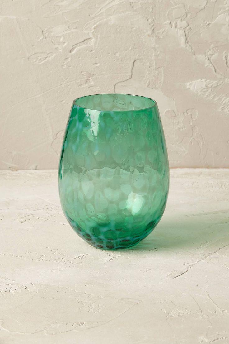 Treillage Weinglas ohne Stiel-TÜRKIS