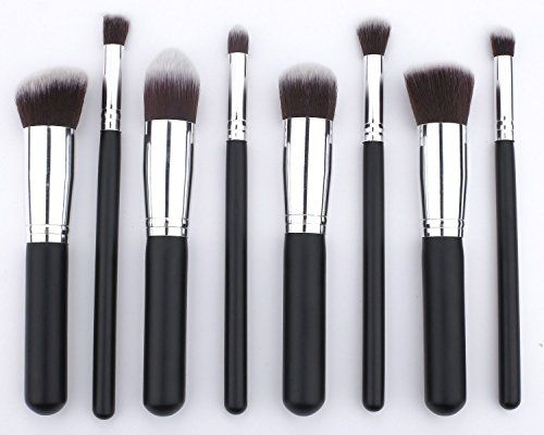 Over 75% of reviewers on amazon.com gave these 4 or 5 stars: Premium Synthetic Makeup Brush Kit (8 Pcs Silver Black) EmaxDesign http://www.amazon.com/dp/B00HSE4WJG/ref=cm_sw_r_pi_dp_RuiDvb0VE92ND