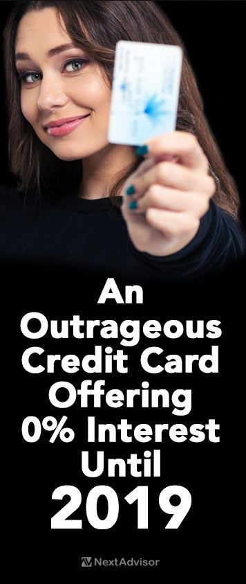 This top-rated credit card not only offers a super-long 0% intro APR, but a huge intro bonus and top cash back rates on everyday purchases. Get the scoop at NextAdvisor on this outrageous card to see if it's right for you.
