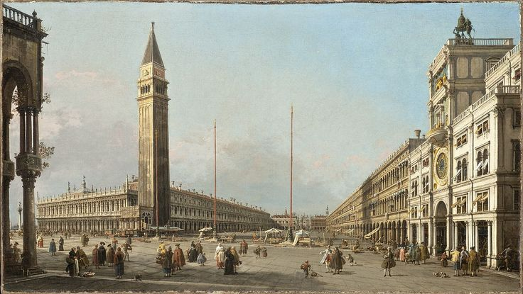 Canaletto - Piazza San Marco Looking South and West LACMA, 1763