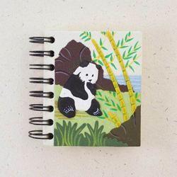 Mr. Ellie Pooh Panda Small Notebook Journal