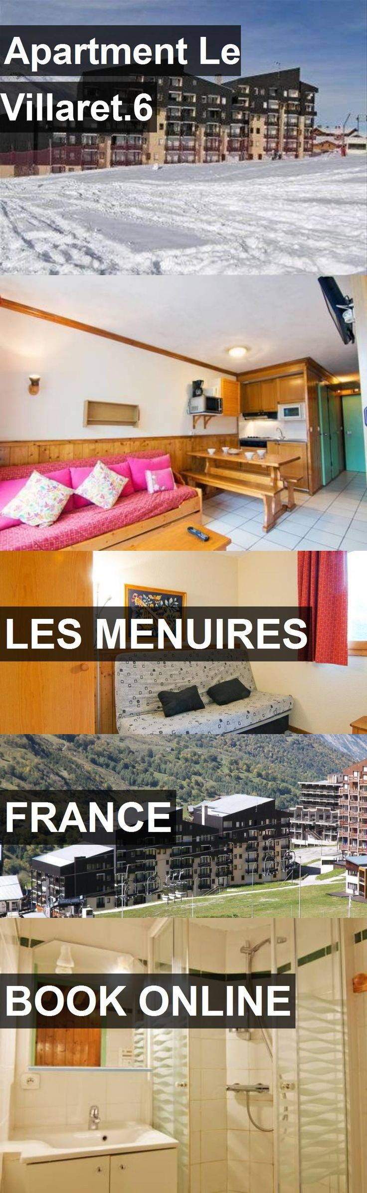 Apartment Le Villaret.6 in Les Menuires, France. For more information, photos, reviews and best prices please follow the link. #France #LesMenuires #travel #vacation #apartment