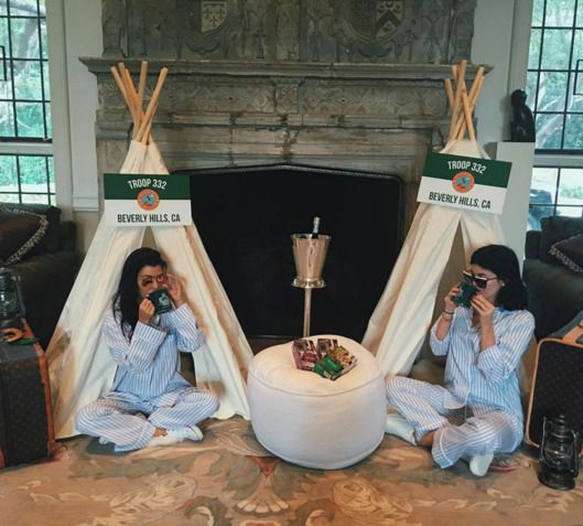Kim Kardashian's Troop Beverly Hills Baby Shower -- Vulture