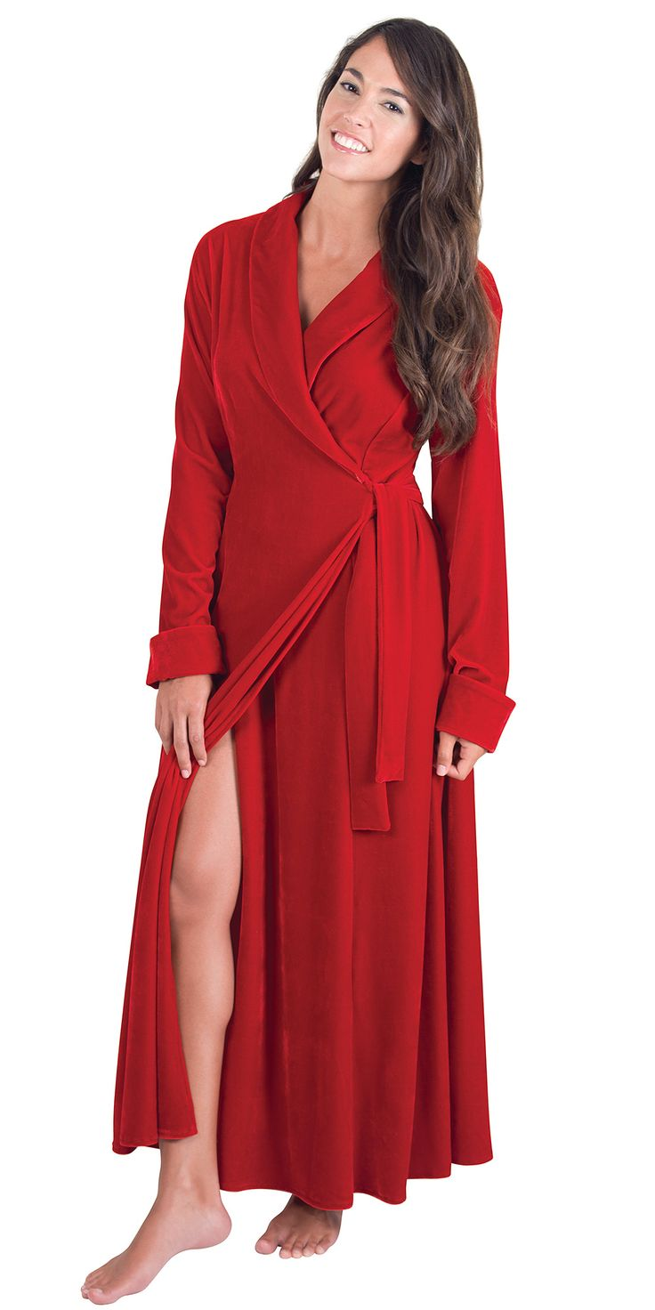 Ruby Velour Robe At My Style Pinterest Robes