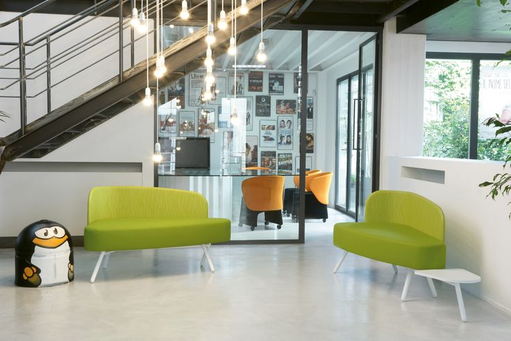 In digital post-production company in Milan, modular flexible and innovative Berlin Design Style #workspace #office #Blog_Sesta