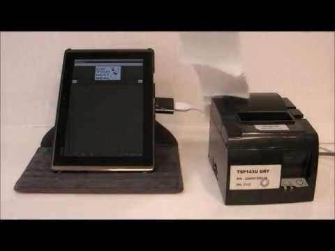 Added value for STAR TSP100 USB printer, supported Android 3.1 / 4.0 or above