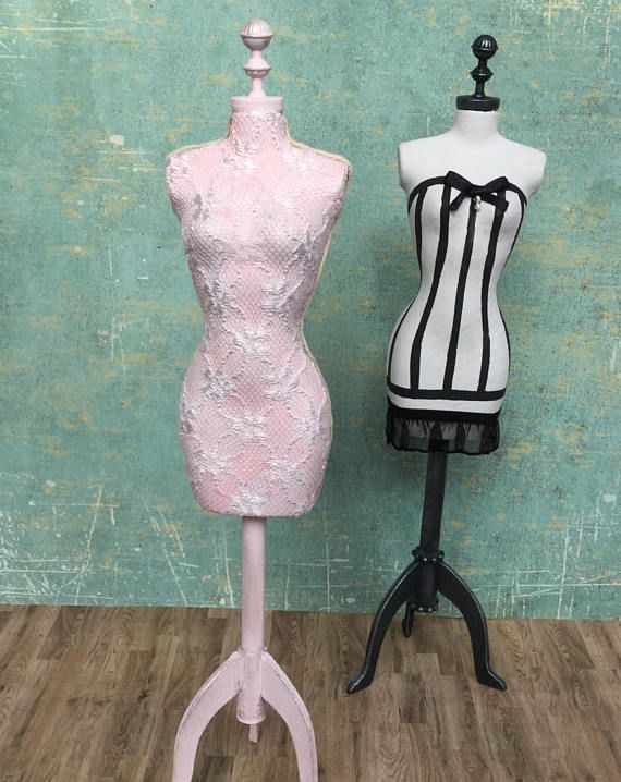 1:6 shabby chic dress form for Blythe Pullip Barbie or any