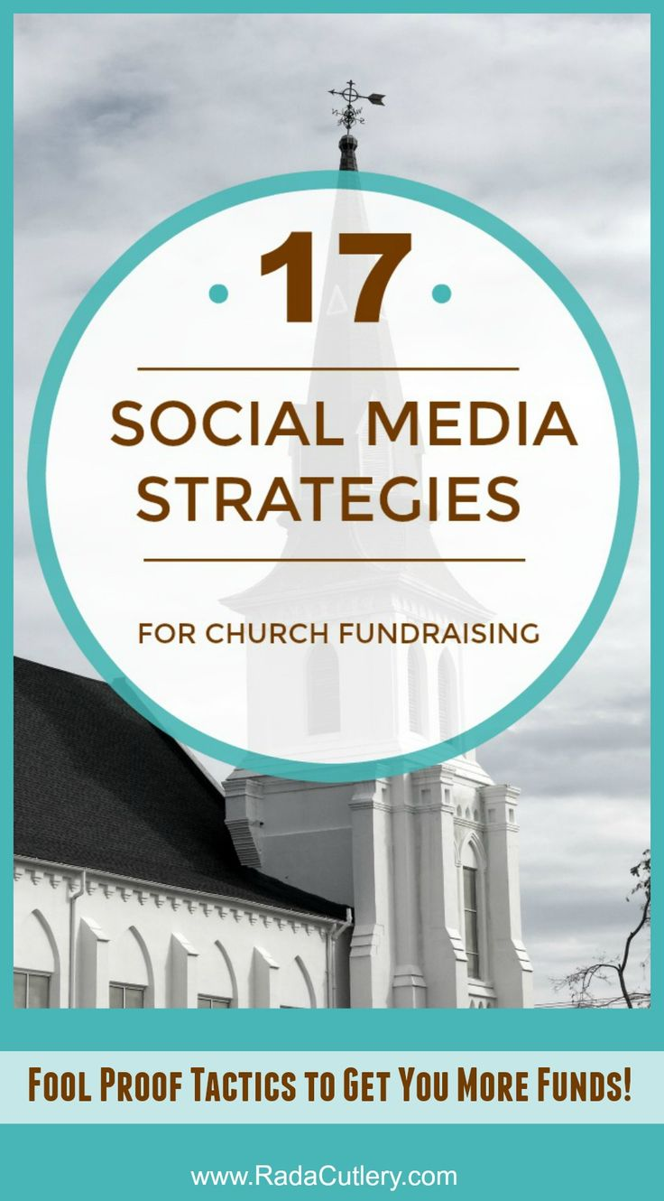 17 Church Fundraising Strategies for Social Media You Can Use Right Now  With a few easy steps, any church fundraiser can become a stunning success.  Think of all the good that money could do for your church!  There are a lot of small church fundraising ideas out there, but these are the cream of the crop.  With that in mind, here are 16 actionable strategies you can use on social media TODAY with Facebook and Twitter to make your church's fundraiser the best it can be.  Try them out and…