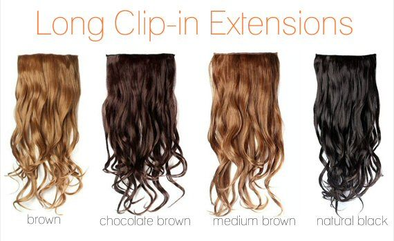 long clip-in hair extensions - Wedding Hair Extensions: Do's and Don'ts