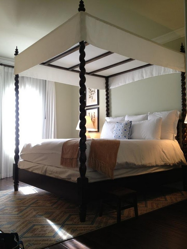 17 Best Images About Romancing The Four Poster On: short canopy bed