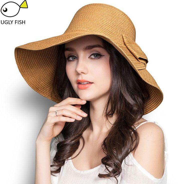 Летние шляпы для женщин соломенная шляпа пляж шляпы для женщин вс шляпы с широкими полями шляпа на лето шляпка летняя пляжные шляпы summer hat летние шляпы для женщин летние шляпки Летние шляпы купить на AliExpress