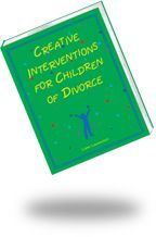 CREATIVE INTERVENTIONS FOR CHILDREN OF DIVORCE:  An innovative collection of therapeutic games, art techniques, and stories to help children of divorce express feelings, deal with loyalty binds, disengage from parental conflict, address anger and self-blame, and learn coping strategies.  Includes a ten-week curriculum that can be used in therapy or support groups. GET 20% DISCOUNT WITH CODE PC14 at www.lianalowenstein.com     #divorce, #therapy, #counseling, #play therapy, #family therapy