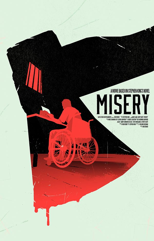 Misery Movie Poster on Behance