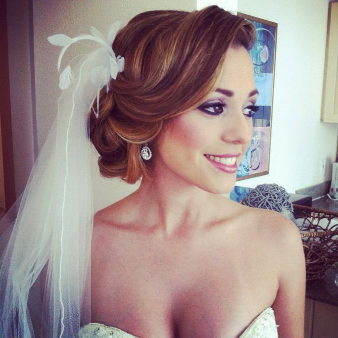 Hairstyle For Wedding Front View: 662 Best Wedding Hair Ideas Images On Pinterest