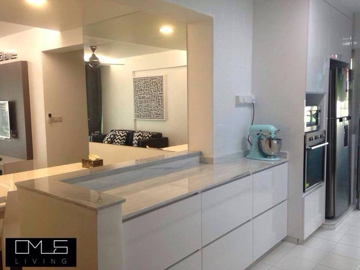 4 room HDB BTO kitchen counter space