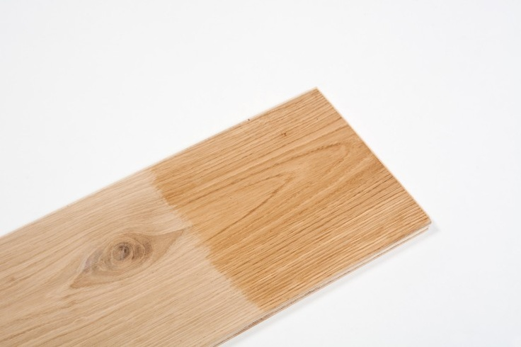 Wood dyes and stains: hardwax oil for engineered #oak #flooring