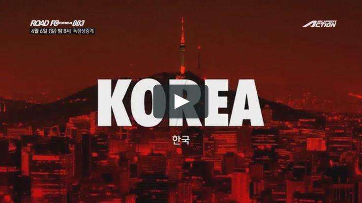 2014 SuperAction ROAD FC KOREA 003 Promo