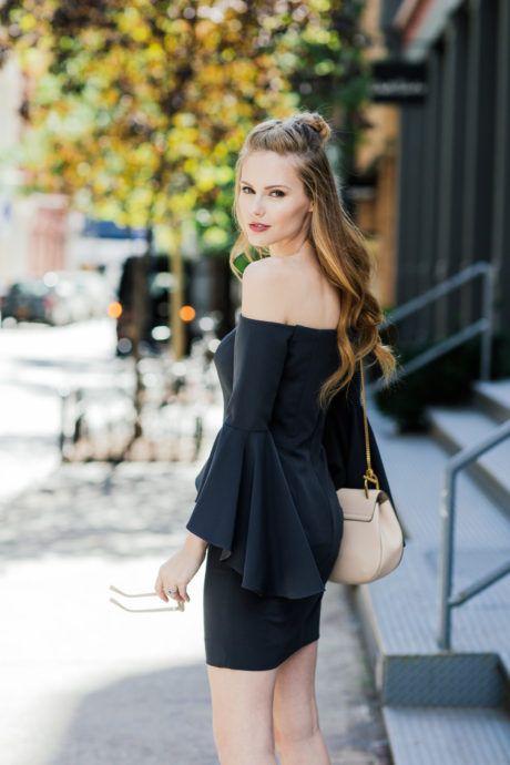 Alyssa Campanella wears our beloved Selena dress.