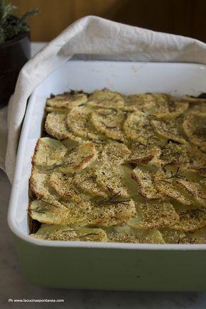 La cucina spontanea: Tortino di patate e carciofi