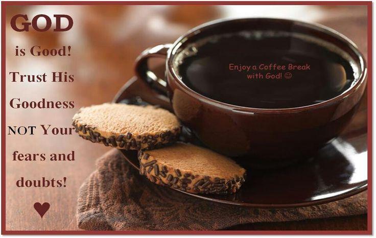 Coffee break with God...great idea